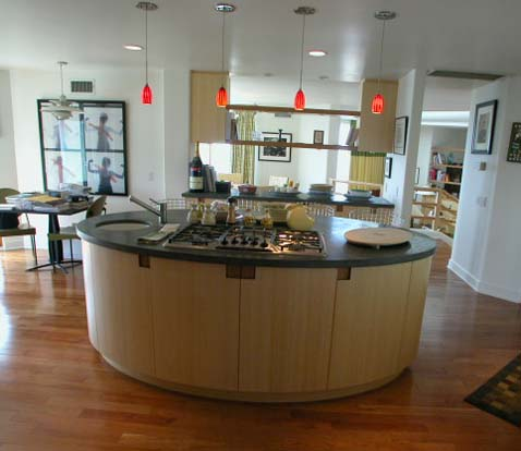 Oval Kitchen Islands. Kitchen Island Variations Cool Oval Kitchen ...